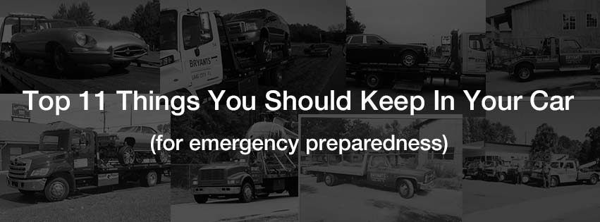 11 things you should keep in your car for emergency preparedness
